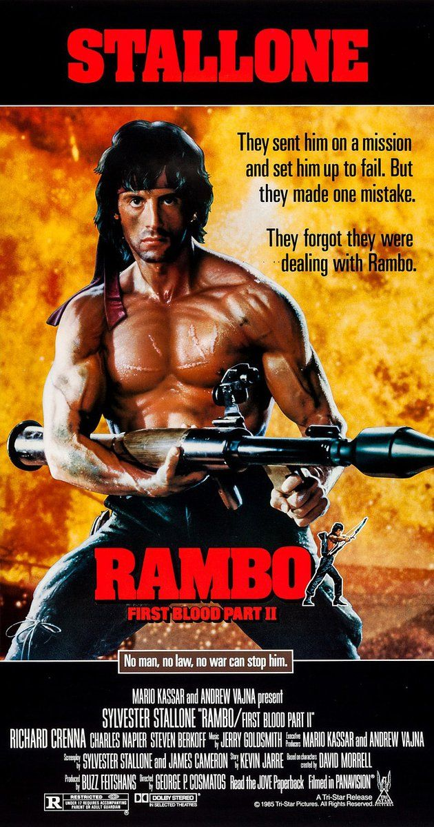 Rambo 2 Is About An Elite Soldier S Covert Mission Into Vietnam In
