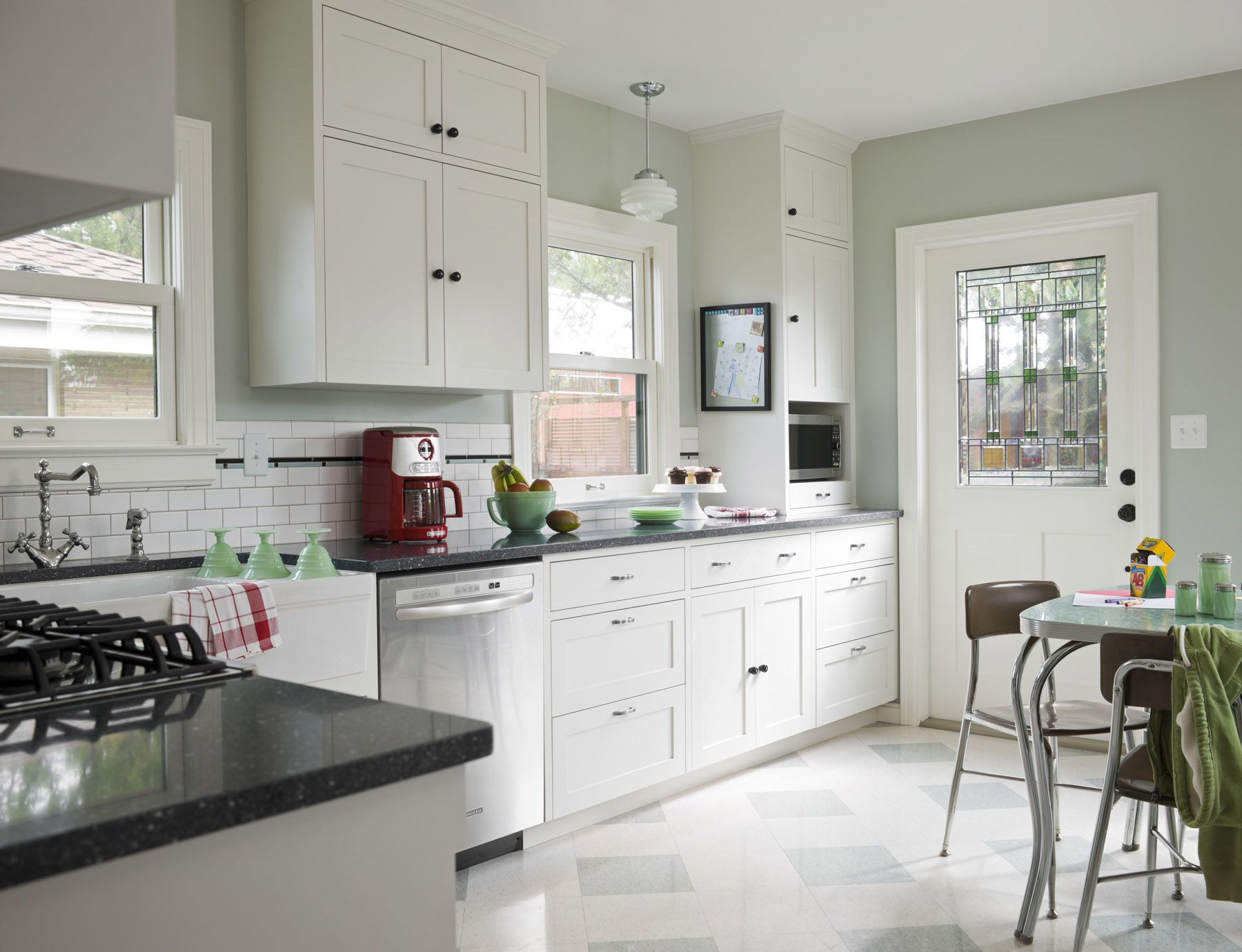 Our vintage kitchen remodel in This Old House Magazine. | Rick and ...