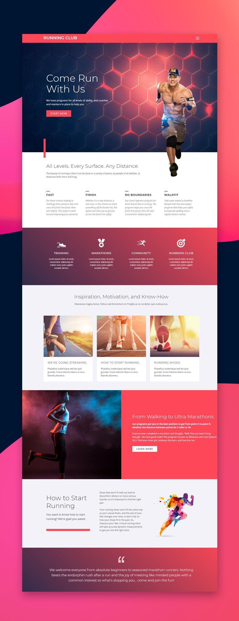 Nicepage Free Template Nicepage Is A Free Mobile Friendly Website Builder Choose Fr Diseño De Sitios Web Portafolio De Diseño Web Disposición De Diseño Web