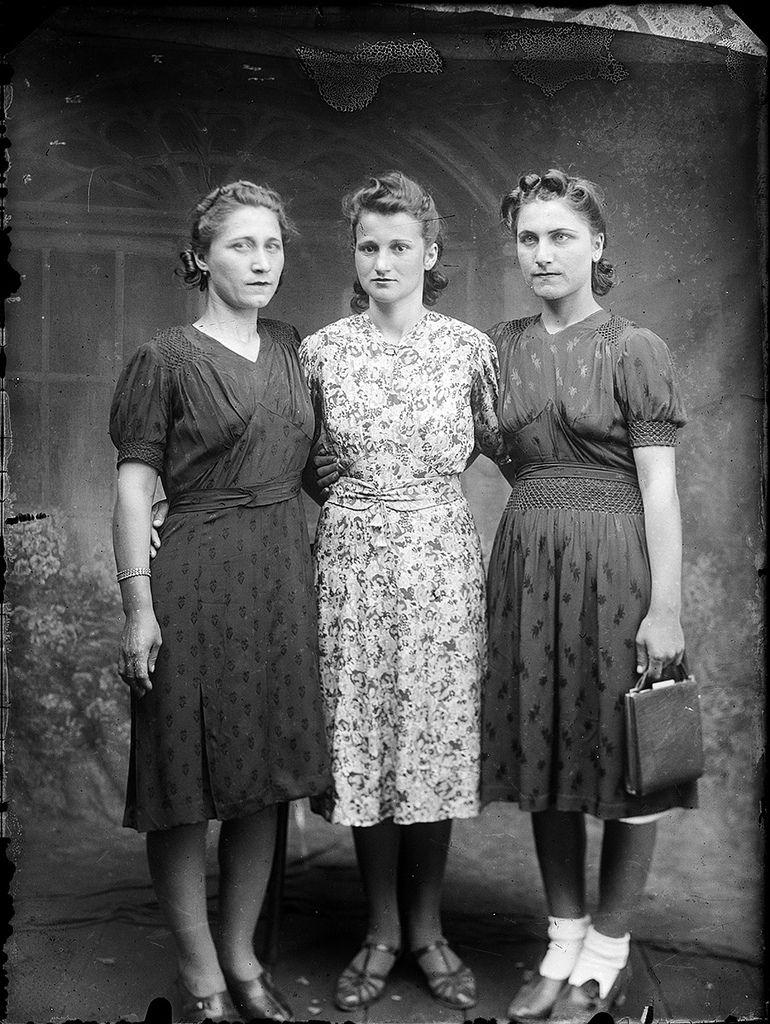 Trei Femei 1940 Cu Aproximație Fashion Style Inspiration