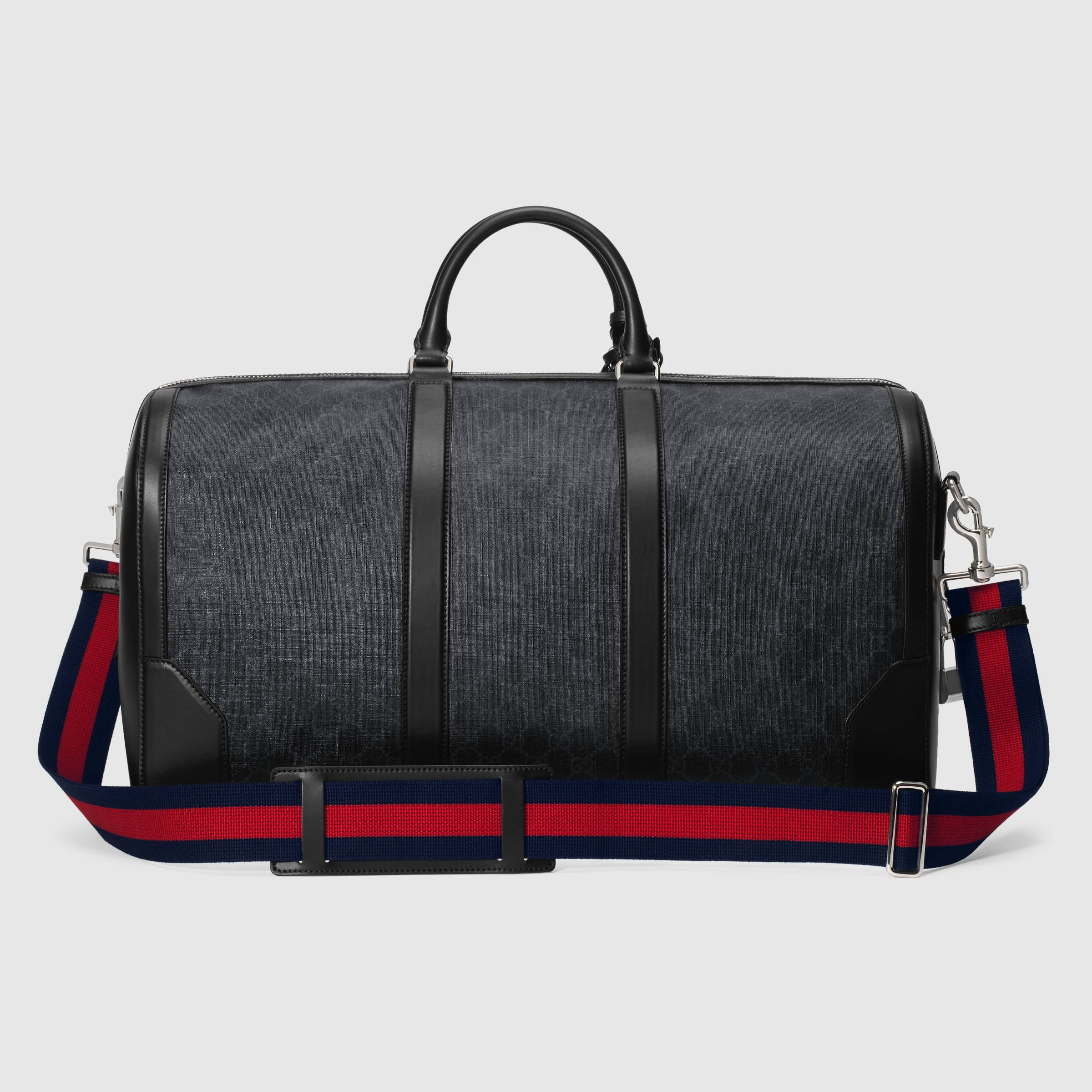 655c8f6e7ac Gucci Soft GG Supreme carry-on duffle Detail 3. Find this Pin and more ...