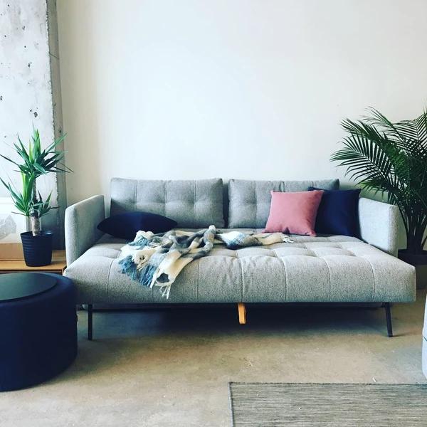 Nest Storage Sofa Bed (Queen) Ash Grey (Görüntüler ile)