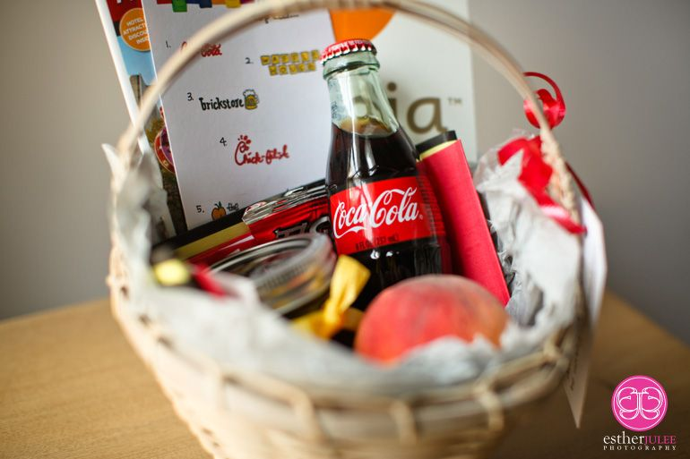 Welcome Basket Atlanta Style | Favors | Pinterest | Gift, Favors ...