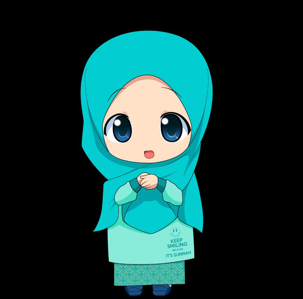 Kartun Chibi Muslimah Comel Dan Lucu Azhan Co Anime Muslim Anime Muslimah Hijab Cartoon