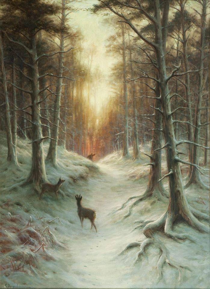 Joseph Farquharson | Victorian Landscape painter | Tutt'Art@ | Pittura * Scultura * Poesia * Musica |