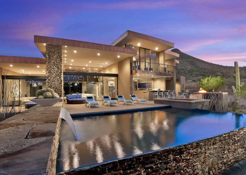 Arizona contemporary home plans