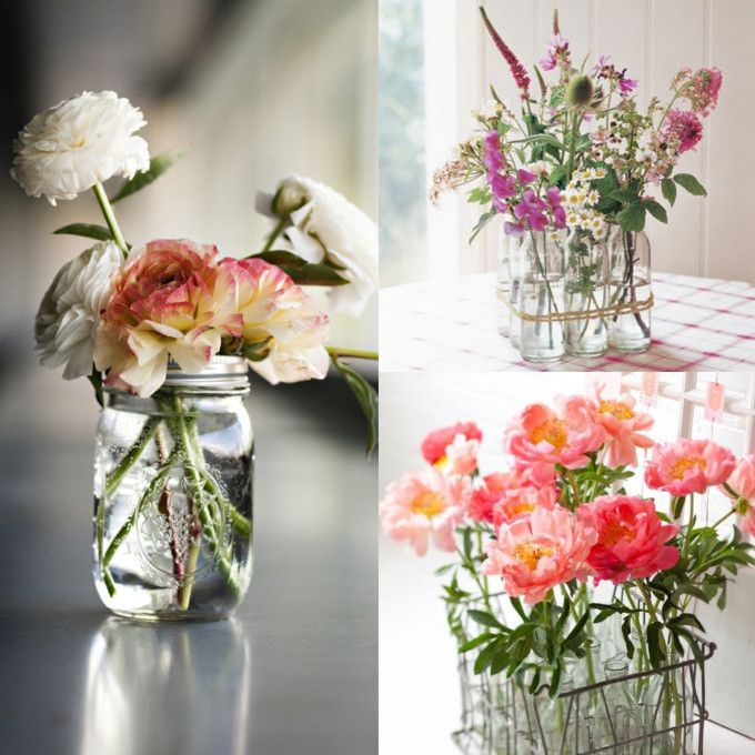 Easy Flower Arrangements how to make simple diy flower arrangements | diy flower