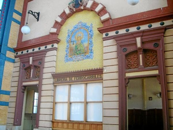 Patrimonio Industrial Arquitectónico: Almería. La antigua estación de tren padece quince...