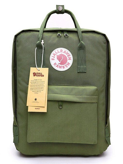 0c689299b Fjallraven Kanken Classic Backpack Army Green | wardrobe whims in ...