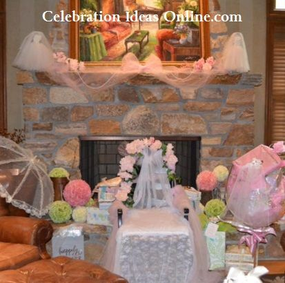 Bridal shower decorating with tulle an inexpensive and beautiful bridal shower decorating with tulle an inexpensive and beautiful bridal shower decorating idea look junglespirit Image collections