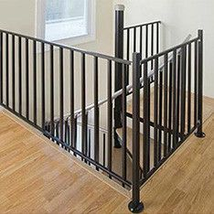 Best Shop Stairs Railings At Lowes Com Stair Railing Kits Wrought Iron Stairs Indoor Stair Railing 400 x 300