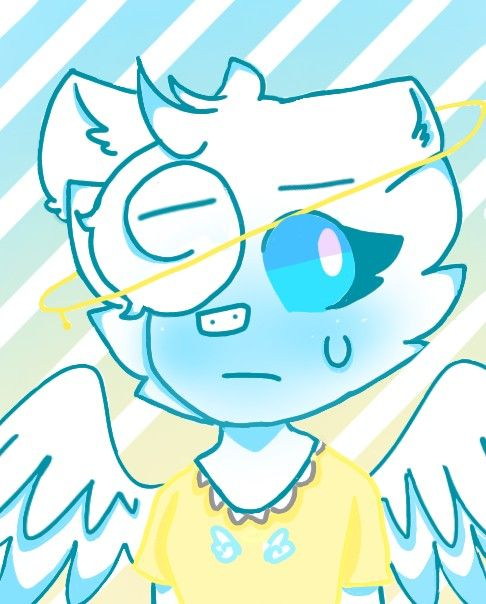 Piggy Kawaii Roblox Angel Angel Roblox Piggy Uwo Also I Draw It By Myself In 2020 Piggy Roblox Anime Angel