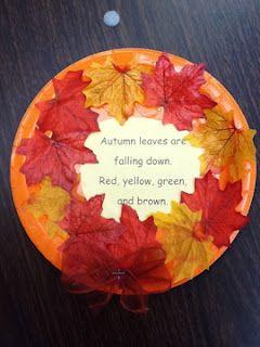 Mrs. Greene's Kindergarten Korner: November 2011 | art ...