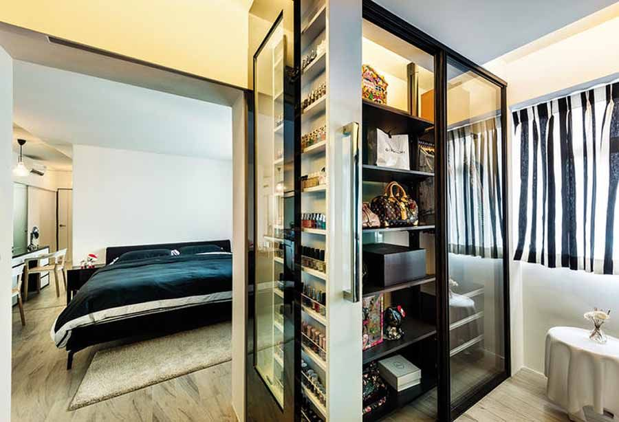 9 Ways To Squeeze All Your Clothes Into Your Small Hdb Wardrobe Impressive Hdb Bedroom Design Ideas Review