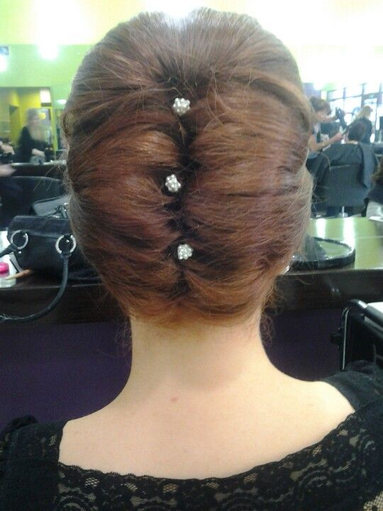 French Roll Hair