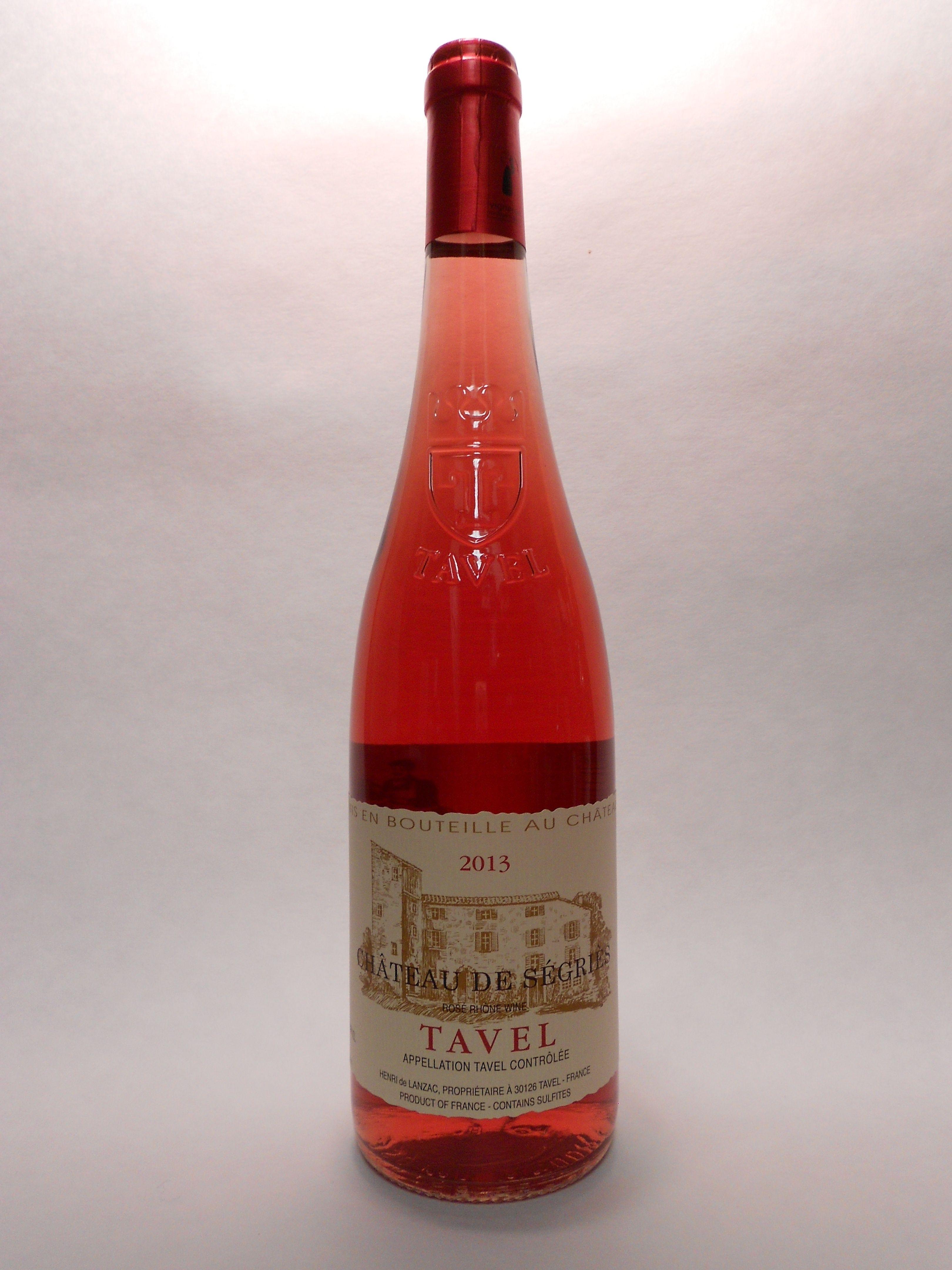 2013 Chateau De Segries Tavel Rose Sku 61618 Www Bassins Com Phone 202 338 1433 Vino Rosado Vinos