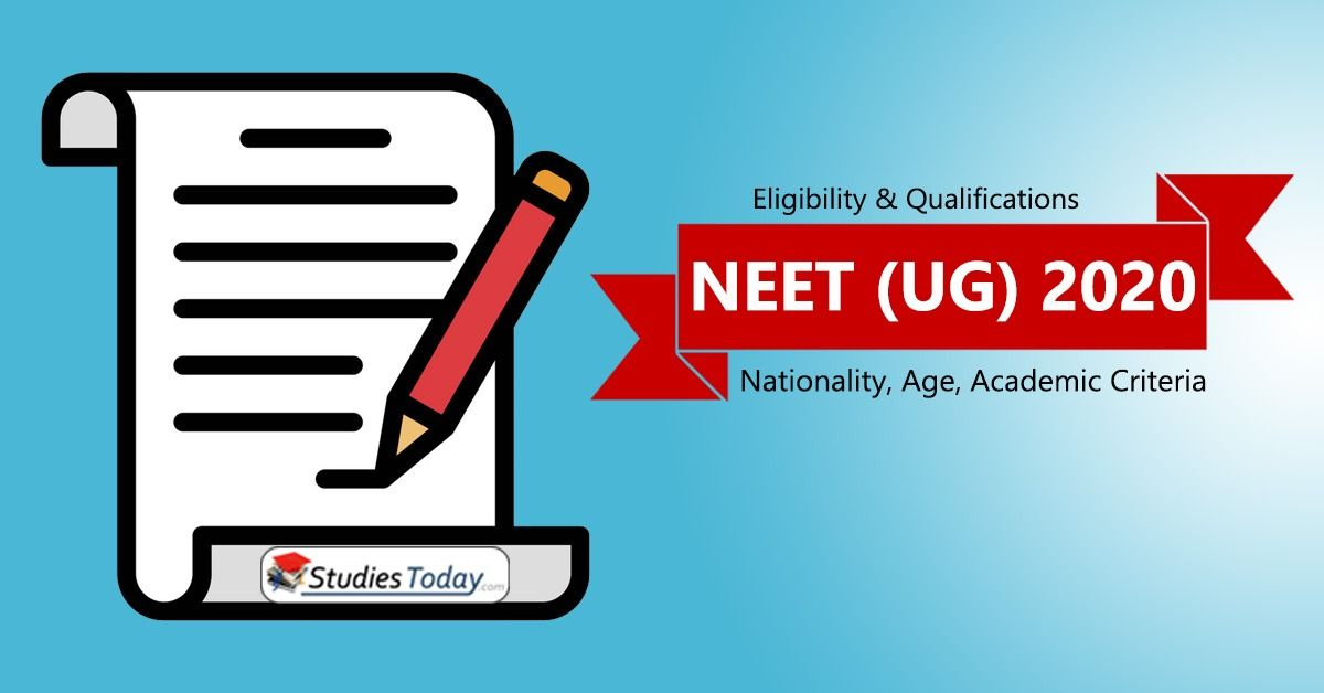 Neet Eligibility Criteria 2020 Number Of Attempts Age Marks In
