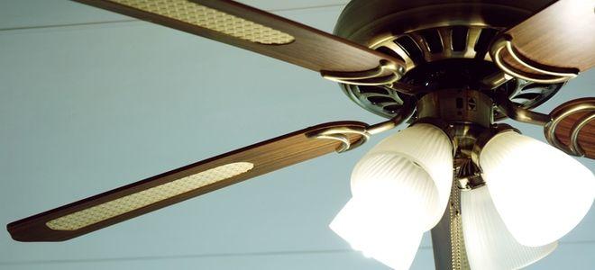 Installing A Ceiling Fan With A Swag Kit Ceiling Fan