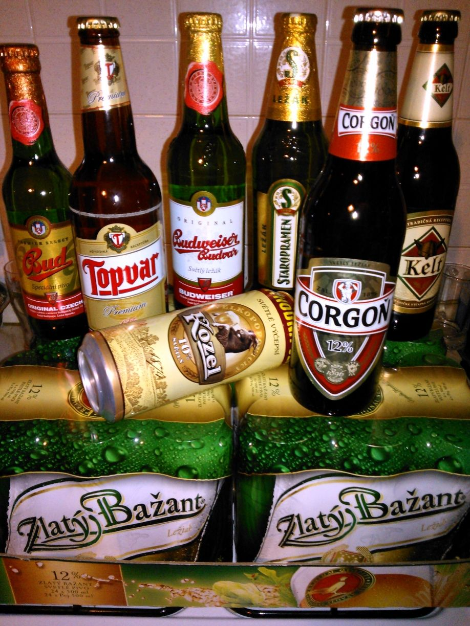 Best Slovak and Czech beers, souvenir from my vacation in Slovakia 8-) |  Czech beer, Best beer, Beer