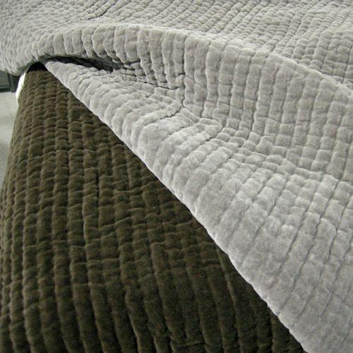 couvre lit velours gris Résultat de recherche d'images pour