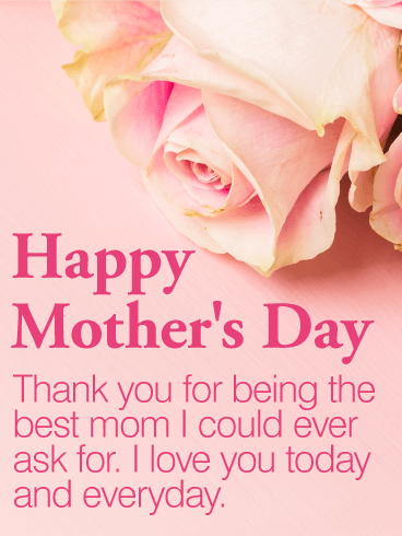 To The Best Mom Happy Mother S Day Card Birthday Greeting Cards By Davia Mother Day Wishes Happy Mother S Day Greetings Happy Mother Day Quotes