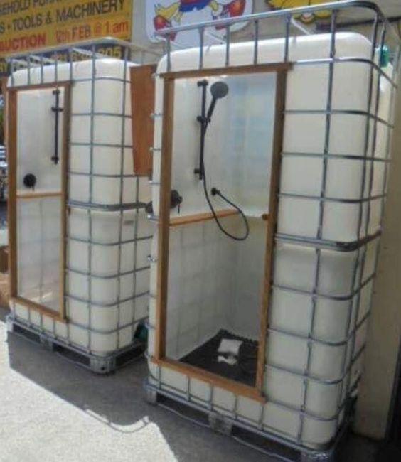 Photo of 1000 l. Douche de réservoir # Douche de réservoir # Projets de menuiserie # Travail du bois pour le recyclage des meubles # Travail du bois – Projets de travail du bois