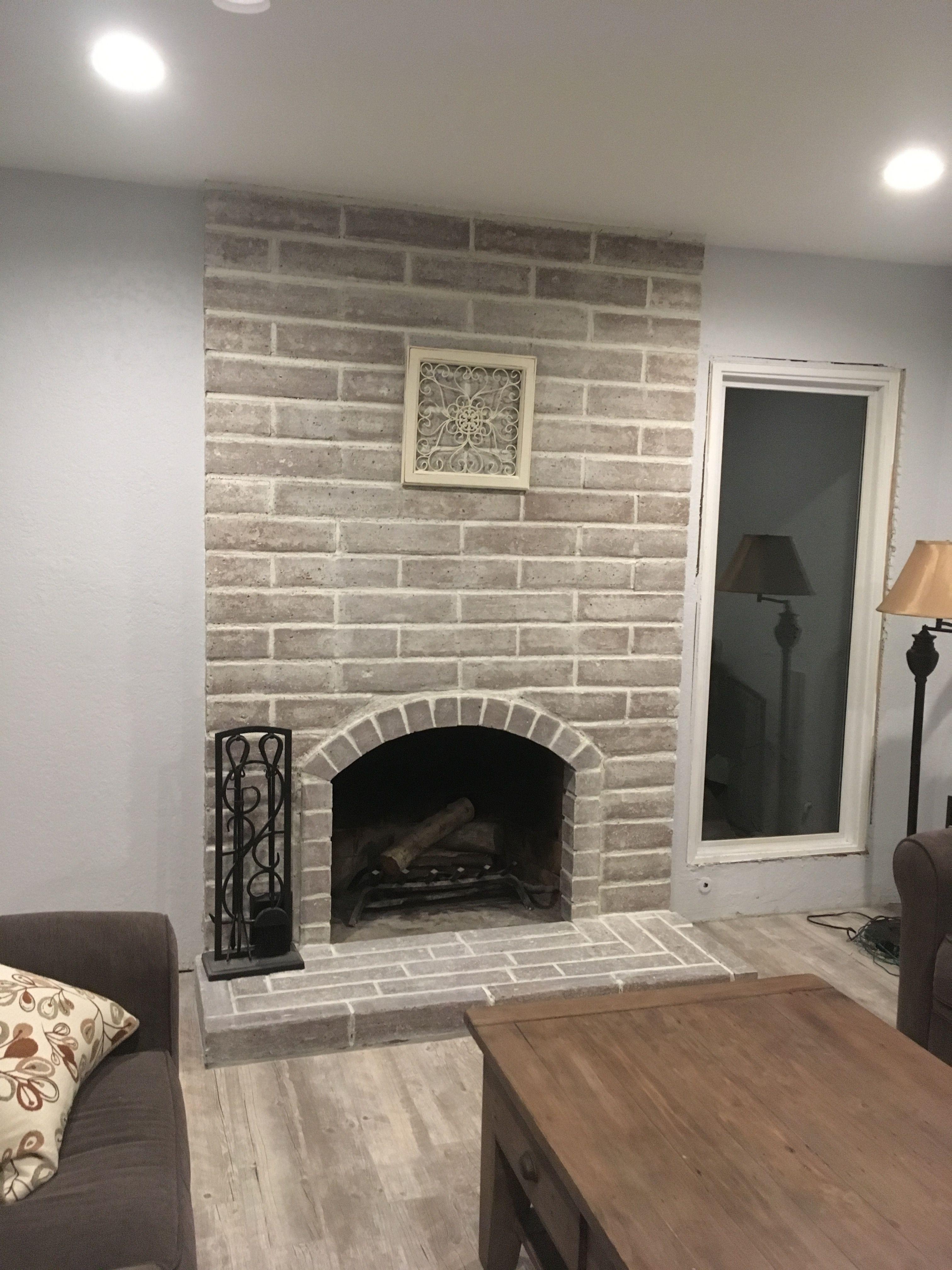 White Fireplace Screen