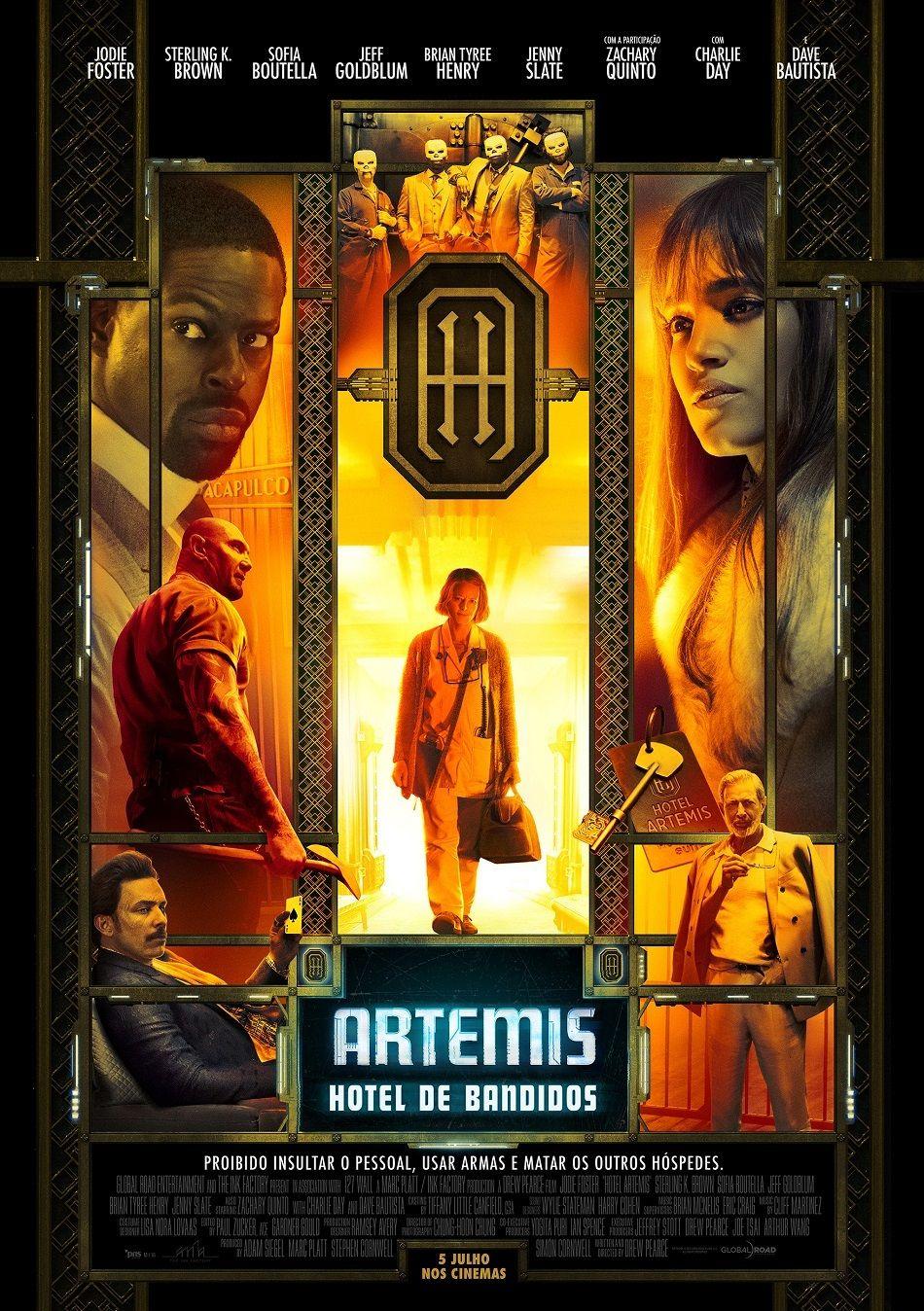 Artemis Hotel De Bandidos De Drew Pearce Dave Bautista Jodie Foster Sofia Boutella Sterling K Brown Full Movies Online Free Full Movies Online Artemis