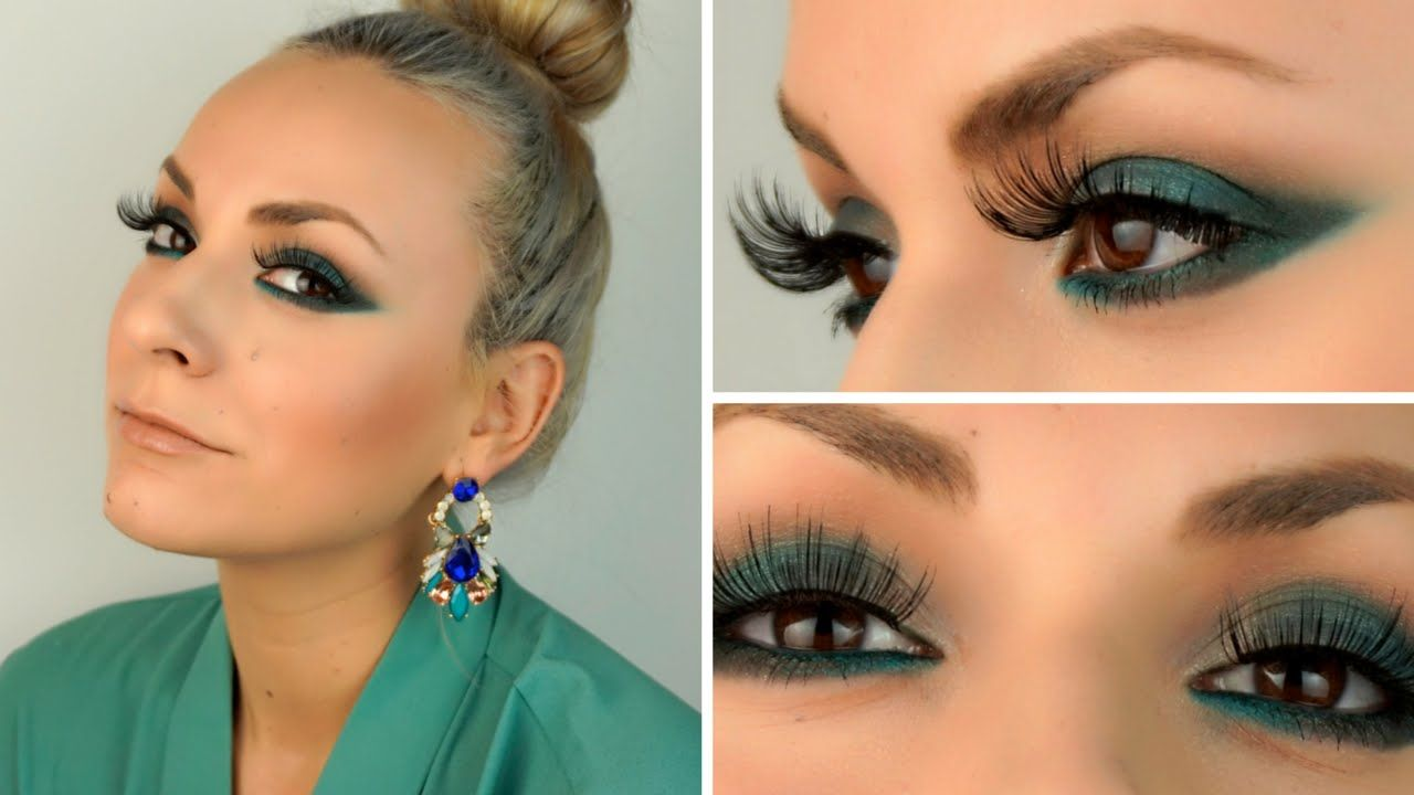emerald green makeup v a n e s s a c o c o makeup this is a makeup tutorial inspired by lady gagas look at the grammys i didnt wanted to recreate the same look but i really liked her whole look and i baditri Images