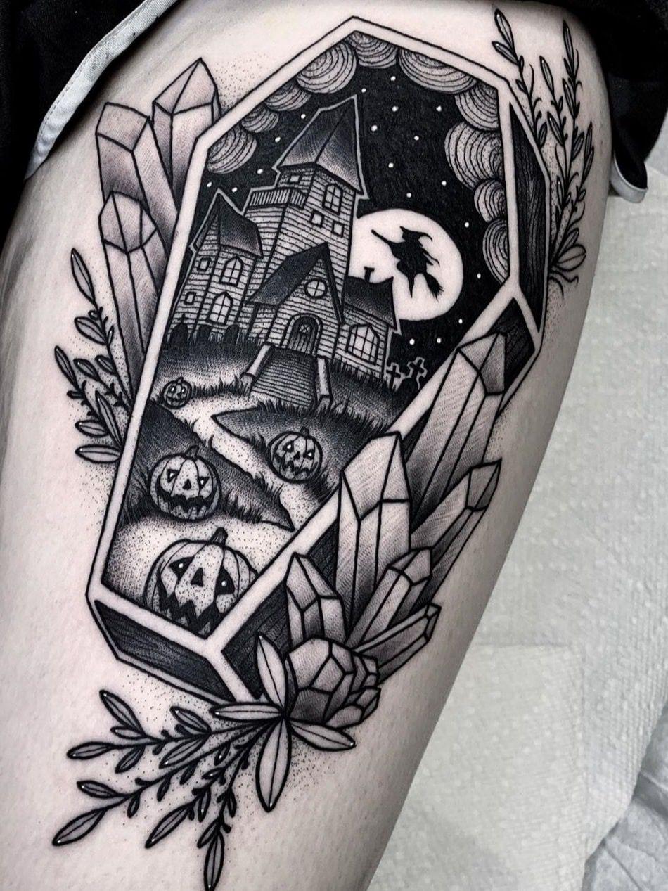 Pin by Mackenzie on Tattooos Spooky tattoos