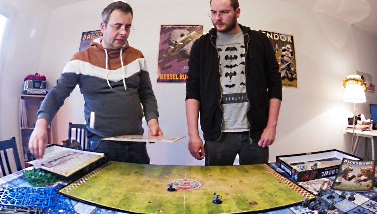 Chronique Jeu de Plateau : Unboxing Blood Bowl 2016