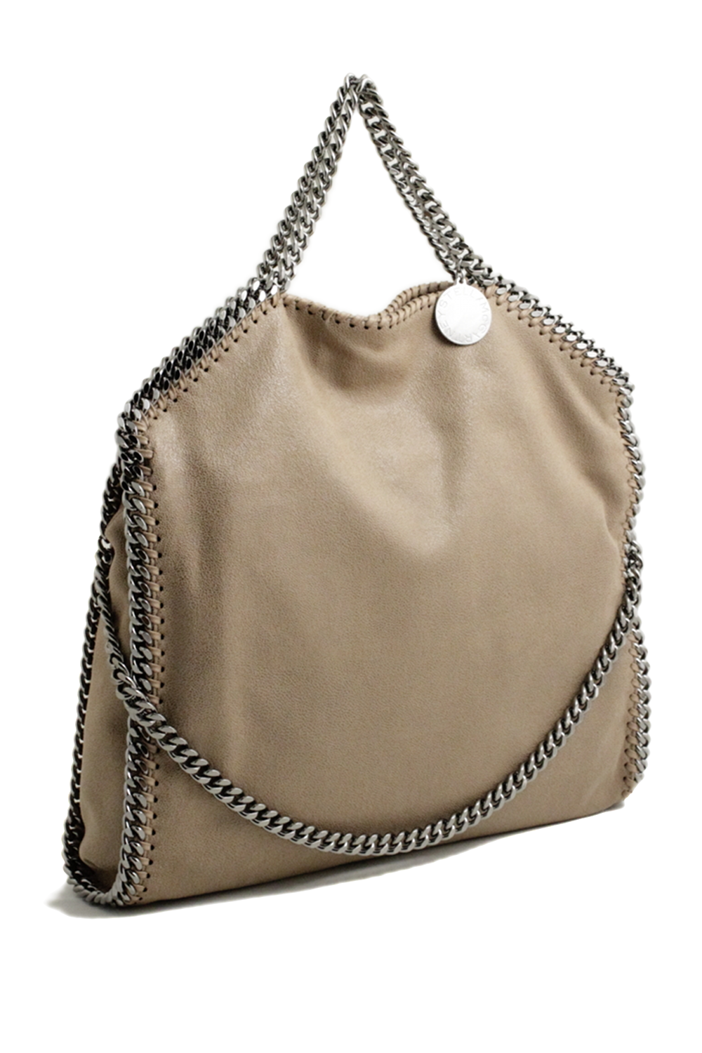 b27a0021e378 Stella McCartney falabella three chain beage toffee tote bag Stella  McCartney shop online