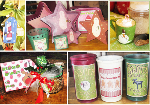 Homemade Christmas Gift Ideas | Tin Cans, Cans, Bags, Jars and More ...