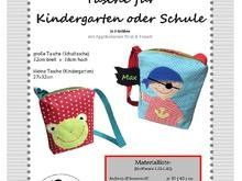 Photo of Sewing instructions, sewing pattern, e-book, bag for kindergarten …