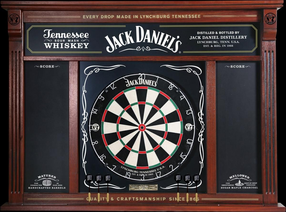 Beer Spirit Wine And Bar Collectables Largest Variety In Australia Dart Board Cabinet Jack Daniels Dartboard Dart Board Wall