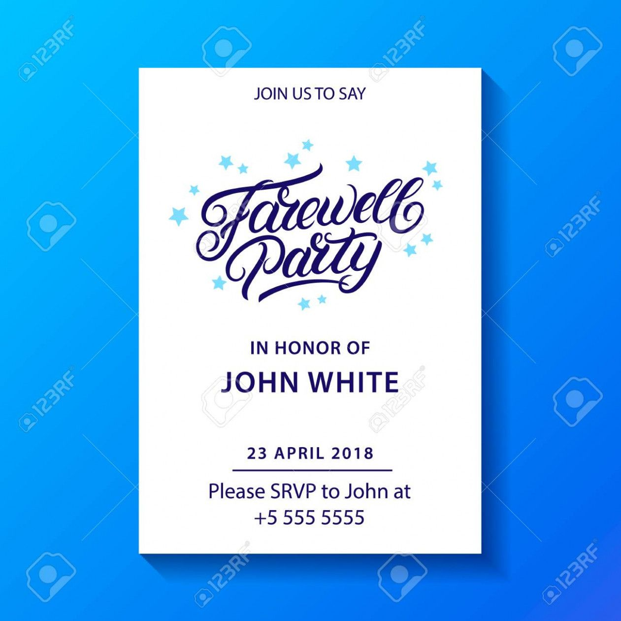 Farewell Party Card In Treads 2020 For Ideas Invitationcard