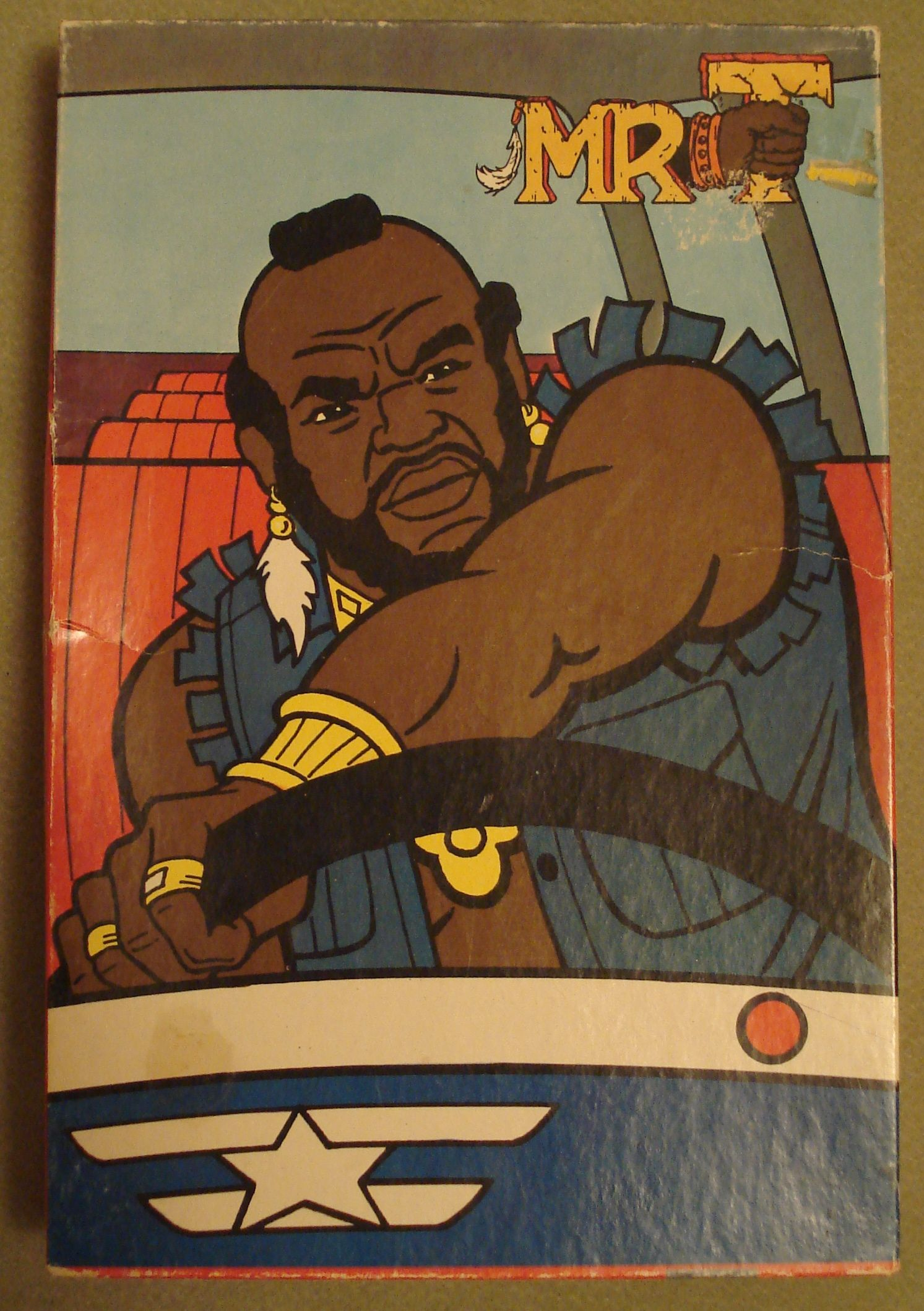 The A Team Mr T Puzzle Comic Books The A Team Comic Book Cover