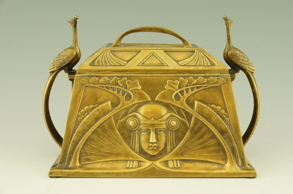Art Nouveau jewelry box by WMF Art nouveau jewellery Wmf and Box