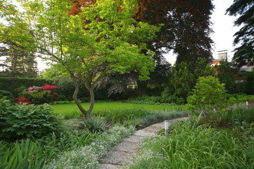 greenTEC Design Garten via @Lukas Trybus Architektur - gartenarchitektur