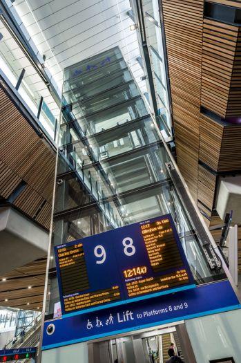 Stannah powers access in London Bridge Station rebuild