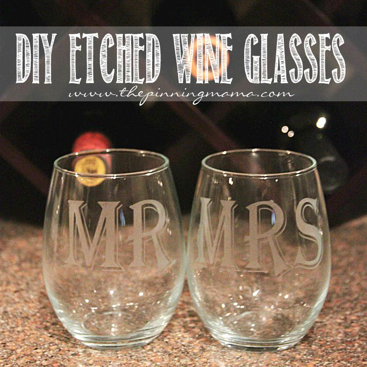 DIY Etched Wine Glasses Silhouettes Wine And Glass - Diy vinyl decals for wine glasses