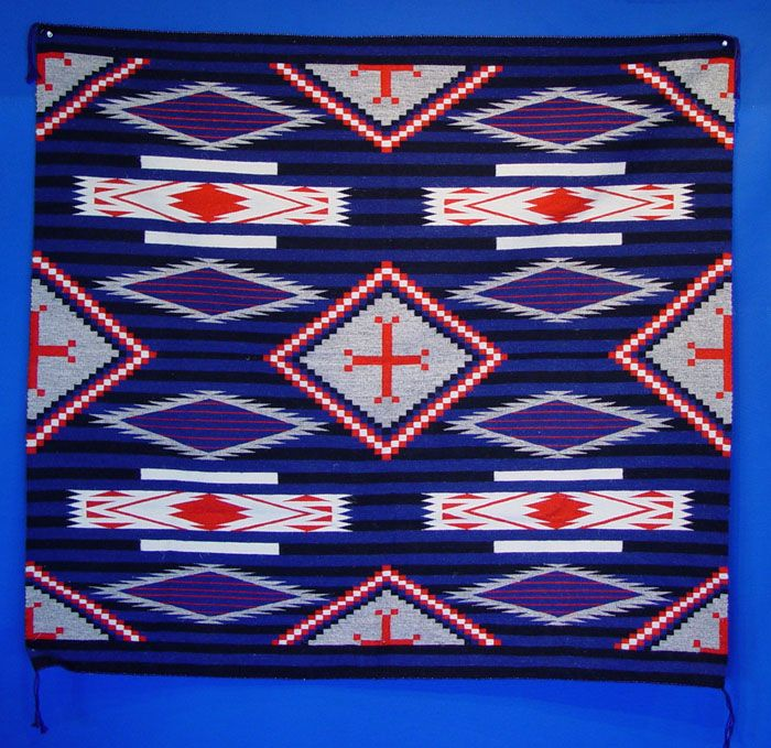 Contemporary Navajo Weaving, With Third Phase Influence