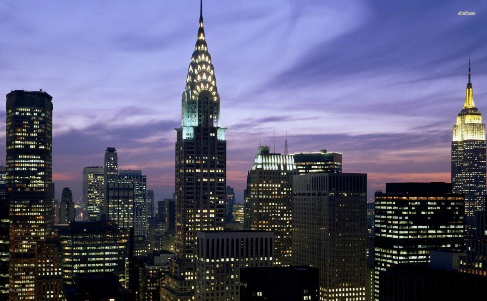 Empire State Building At Night Hd Wallpaper With Images Empire
