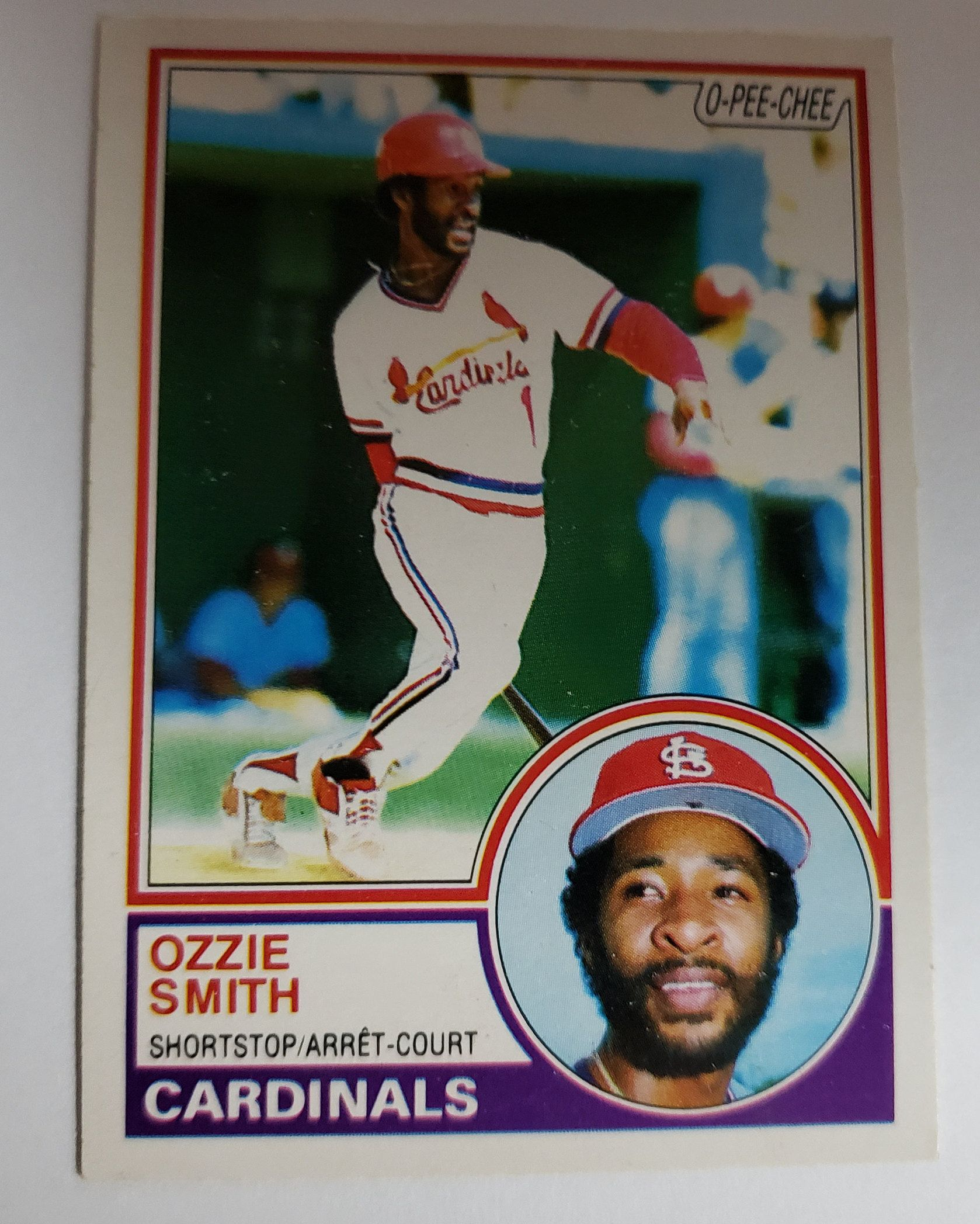 1983 opeechee ozzie smith 14 in 2020 chees cool