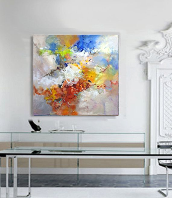 Extra large wall art, Modern wall art, Livingroom decor, Abstract