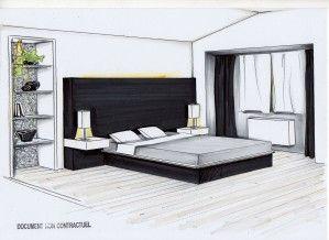 Emejing Chambre Perspective Photos - Antoniogarcia.info ...