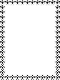 Bordas Preto E Branco Moldura Preto E Branco Convites Preto E