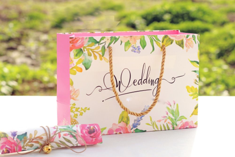 20 pieces Multi-Paper Wedding Party Bags 16051002