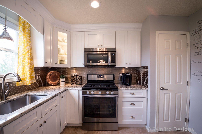 Best Columbus Ohio White Shaker Kitchen Shaker Kitchen 400 x 300