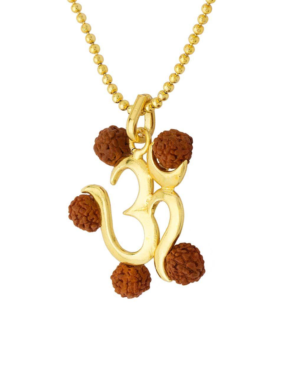 Om enclosed with rudraksha pendant jwells pinterest om buy om enclosed with rudraksha pendant online india aloadofball Image collections